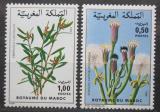 Poštovní známky Maroko 1980 Květiny Mi# 943-44