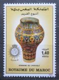 Poštovní známka Maroko 1983 Keramika Mi# 1023