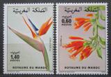 Poštovní známky Maroko 1983 Flóra Mi# 1027-28