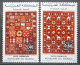 Poštovní známky Maroko 1983 Vzory koberců Mi# 1038-39