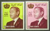 Poštovní známky Maroko 1984 Král Hassan II. Mi# 1044-45