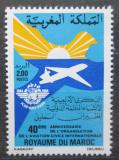 Poštovní známka Maroko 1984 Civilní letectví Mi# 1056