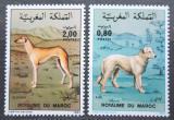 Poštovní známky Maroko 1984 Psi Mi# 1061-62