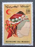 Poštovní známka Maroko 1985 Tradiční účes Mi# 1077 Kat 4.50€