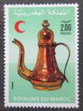 Poštovní známka Maroko 1986 Kovová konvice na kávu Mi# 1091