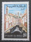 Poštovní známka Maroko 1970 Ulice ve Fes Mi# 666