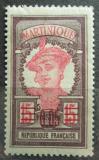 Poštovní známka Martinik 1922 Domorodkyně přetisk Mi# 83