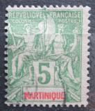Poštovní známka Martinik 1899 Koloniální alegorie Mi# 39