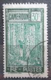 Poštovní známka Kamerun 1927 Sběr kaučuku Mi# 99