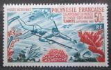 Poštovní známka Francouzská Polynésie 1965 Lovec s harpunou Mi# 48 Kat 100€