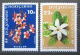 Poštovní známky Francouzská Polynésie 1979 Květiny Mi# 272-73