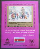 Poštovní známka KLDR 1980 Kim Il Sung Mi# Block 69