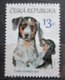 Poštovní známka Česká republika 2016 Český strakatý pes Mi# 873