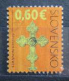 Poštovní známka Slovensko 2010 Kříž Mi# 828