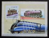 Poštovní známka Mosambik 2009 Parní lokomotivy Mi# Block 248 Kat 10€