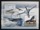 Poštovní známka Mosambik 2009 Bojová letadla Mi# Block 258 Kat 10€