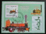 Poštovní známka Mosambik 2009 Parní lokomotivy Mi# Block 247 Kat 10€
