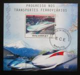 Poštovní známky Mosambik 2010 Rychlovlak Shinkansen Mi# Block 391 Kat 10€