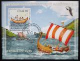 Poštovní známka Mozambik 2009 Historické plachetnice Mi# Block 234 Kat 10€