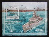 Poštovní známka Mosambik 2009 Válečné lodě Mi# Block 237 Kat 10€