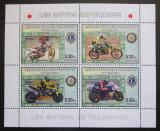 Poštovní známky Kongo Dem. 2006 Japonské závodní motocykly Mi# N/N