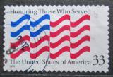 Poštovní známka USA 1999 Státní vlajka Mi# 3157