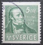 Poštovní známka Švédsko 1939 Per Henrik Ling Mi# 253 A