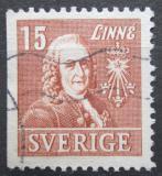 Poštovní známka Švédsko 1939 Dr. Carl von Linné, lékař Mi# 273 Dl