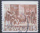 Poštovní známka Švédsko 1941 Reformátoři Mi# 281 A