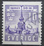 Poštovní známka Švédsko 1941 Zvonice ve Skansenu Mi# 283 A