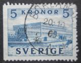 Poštovní známka Švédsko 1953 Královský zámek Mi# 285 Dl
