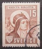 Poštovní známka Švédsko 1941 Svatá Birgitta Mi# 288 C