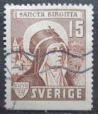 Poštovní známka Švédsko 1941 Svatá Birgitta Mi# 288 Du