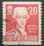 Poštovní známka Švédsko 1942 Král Gustav III. Mi# 291 A