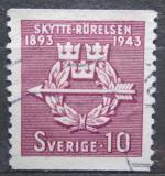 Poštovní známka Švédsko 1943 Švédské člunkové sdružení, 50. výročí Mi# 300 A