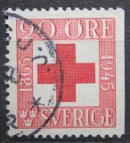 Poštovní známka Švédsko 1945 Švédský červený kříž, 80. výročí Mi# 311 Dr