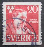 Poštovní známka Švédsko 1945 Viktor Rydberg, spisovatel Mi# 314 A
