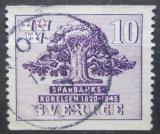 Poštovní známka Švédsko 1945 Švédské spořitelny, 125. výročí Mi# 316 A