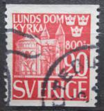 Poštovní známka Švédsko 1946 Dóm v Lund Mi# 319 A