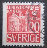 Poštovní známka Švédsko 1946 Dóm v Lund Mi# 319 Dl