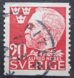 Poštovní známka Švédsko 1946 Alfred Nobel Mi# 325 A