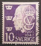 Poštovní známka Švédsko 1947 Král Gustav V. Mi# 329 Do
