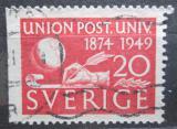 Poštovní známka Švédsko 1949 UPU, 75. výročí Mi# 352 Dl