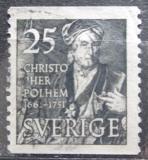 Poštovní známka Švédsko 1951 Christopher Polhem Mi# 363 A