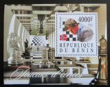 Poštovní známka Benin 2015 Magnus Carlson, šachy Mi# N/N