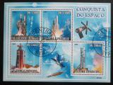 Poštovní známky Svatý Tomáš 2009 Průzkum vesmíru Mi# 4068-71 Kat 10€