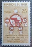 Poštovní známka Niger 1960 Komise pro technickou spolupráci Mi# 14