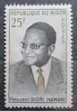 Poštovní známka Niger 1960 Prezident Hamani Diori Mi# 17