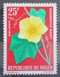 Poštovní známka Niger 1964 Lufa válcovitá Mi# 65