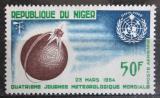 Poštovní známka Niger 1964 Světový den meteorologie Mi# 70